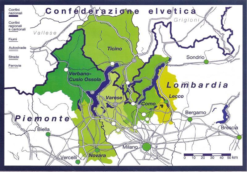 """La """"Regio Insubrica"""": nuove idee per la cooperazione transfrontaliera"""