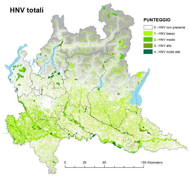 Aree agricole ad alto valore naturale come elemento di dialogo tra politiche in Lombardia