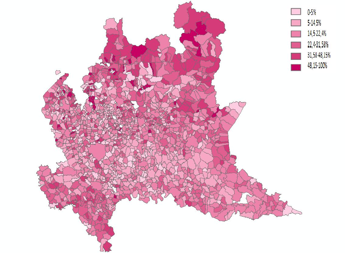 Il volto (poco) rosa dell'agricoltura di una regione avanzata: il caso della Lombardia